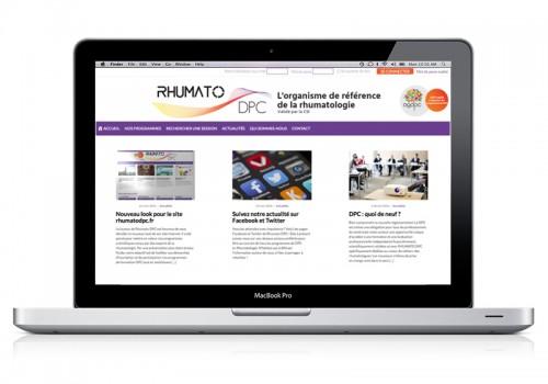 Site Internet Rhumato DPC