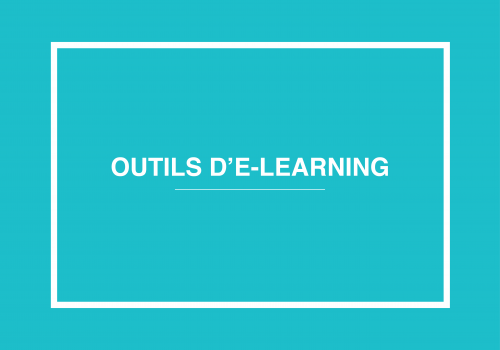 Outils E-learning